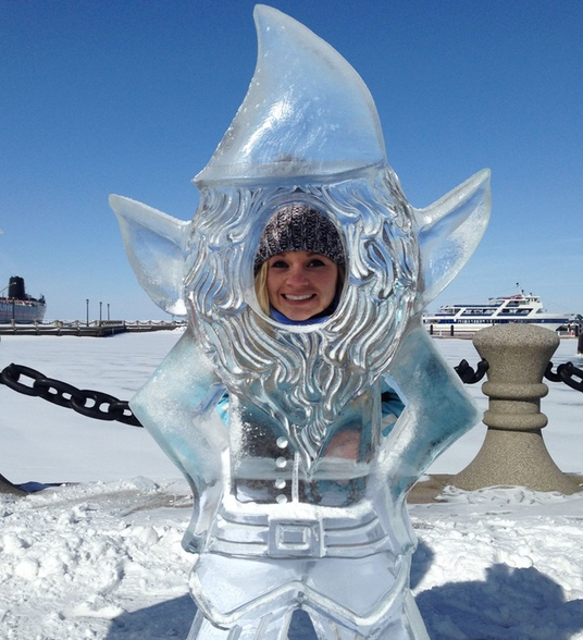 Will Queen Elsa Get Blamed for the Ice Fest in Downtown Cleveland too?