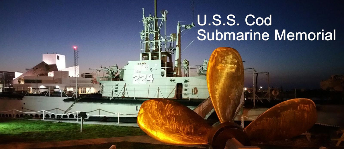 Tour the U.S.S Cod in Cleveland's North Coast Harbor
